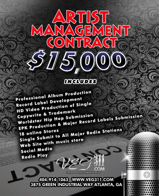 Music Artist Management Agreement