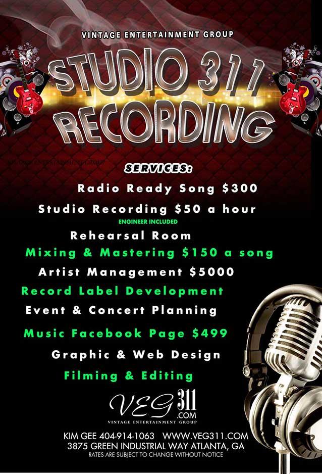 atlanta music studios