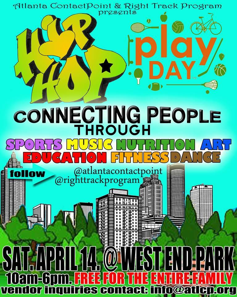 Hip-Hop Play Day Atlanta, GA April 14