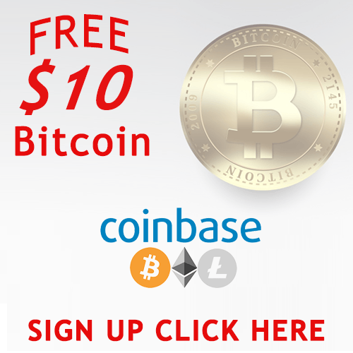 Get $10 worth of Free Bitcoin