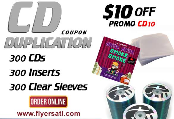 Cheapest CD Duplication In Atlnata GA for Audio Recordings Mixtapes